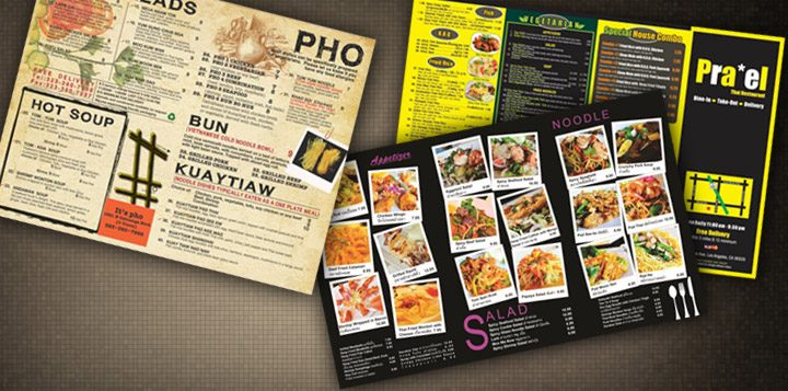 Essential Tips When Designing a Restaurant Menu