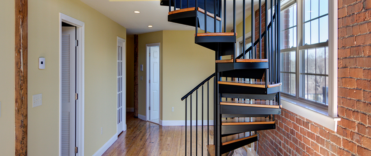 The four main reasons why spiral staircases have more benefits than conventional staircases