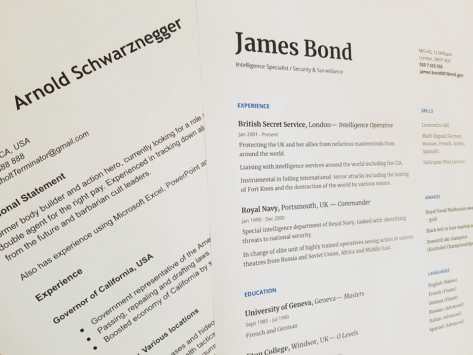 Golden Rules for Creating an Impactful CV
