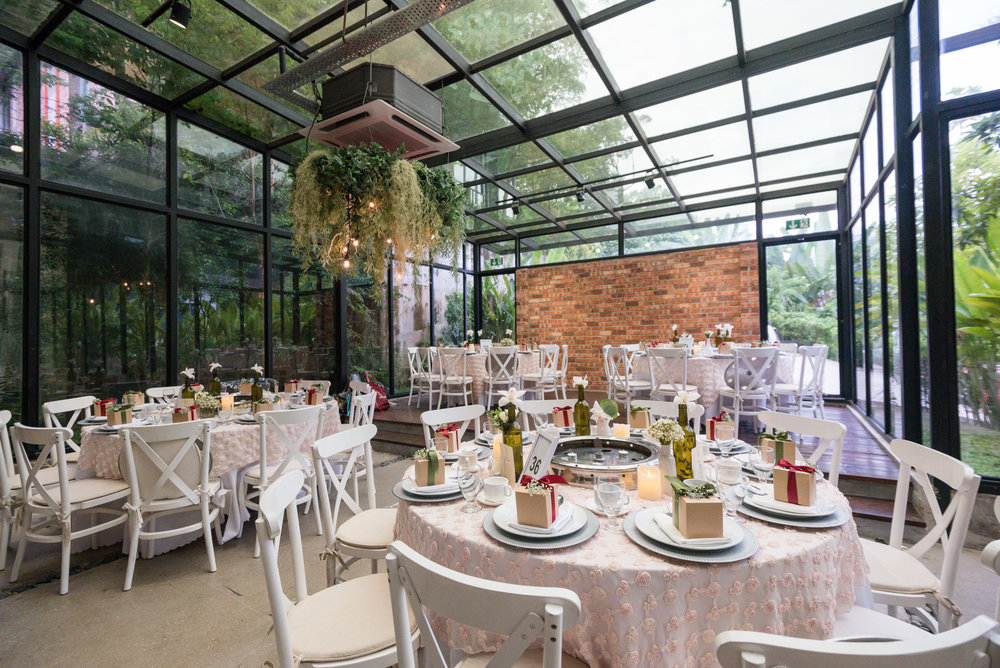 glass house event space